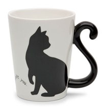 Cat Tail 9 Oz. Mug - I Miss You 2