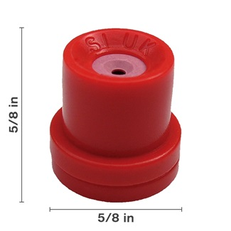 Red Hollow Cone Ceramic Nozzle