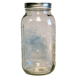 Glass Wide-Mouthed Jar 64 oz