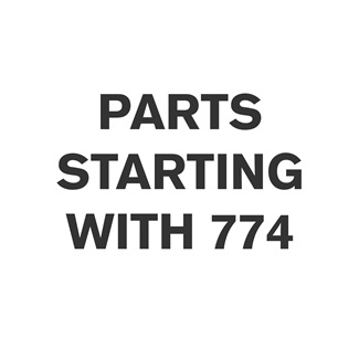 Parts Starting With 774