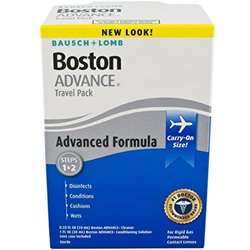 Boston Advance Contact Lens Travel Pack