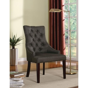 59196 GRAY ACCENT CHAIR