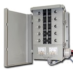 10 CIRCUIT 30A TRANSFER SWITCH