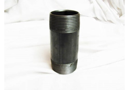"3"" x 6"" Black Cast Iron Nipple"