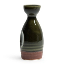 Oribe Green 10 Oz. Sake Bottle