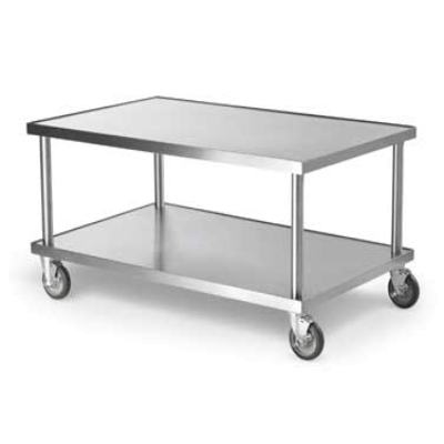 "Vollrath 4087948 48"" Heavy-Duty Mobile Equipment Stand 600 lb"