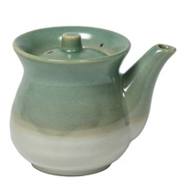 OMBRE GREEN 8 OZ. ROUND SAUCE POT