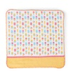 "Towel 9.75"" Sq. Ice Cream"