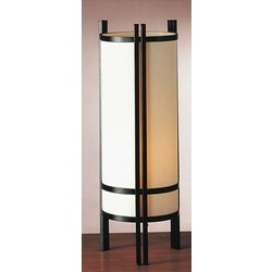 03880A JAPANESE STYLE TABLE LAMP, 24""