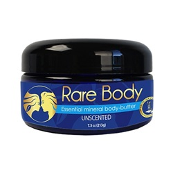Rare Body® Essential Mineral Body-Butter Unscented (7.5 oz)