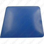 Blue Square Corner Hard Card