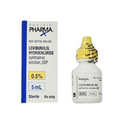 Levobunolol Drops 0.5%, 5mL