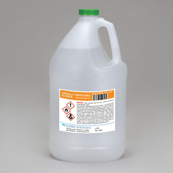 Alcohol, Denatured (Ethyl Alcohol, Ethanol) ACS GRADE