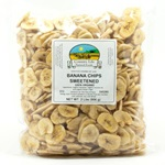 Banana Chips, Sweetened - Organic
