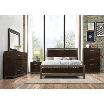 26680Q CHARLEEN QUEEN BED
