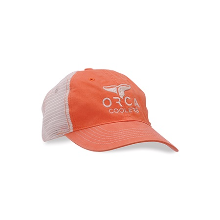 Tangerine Low Profile Trucker Hat