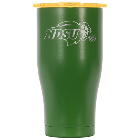 North Dakota 27oz Chaser Green/Yellow