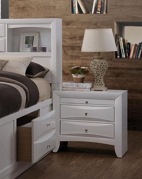 Acme Furniture - 21704 IRELAND WHITE NIGHTSTAND