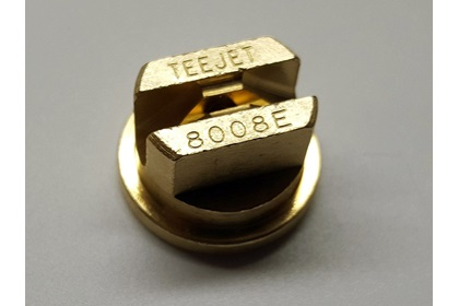 TeeJet TP8008E - 80° Brass Even Flat Spray Nozzle