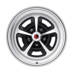 16 x 8 Magnum Alloy Wheel, 5 on 4.5 BP, 4.5 BS, Satin Black / Satin