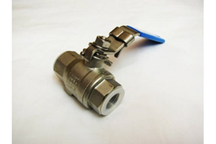 "3/8"" Stainless Steel Full Port Ball Valve"