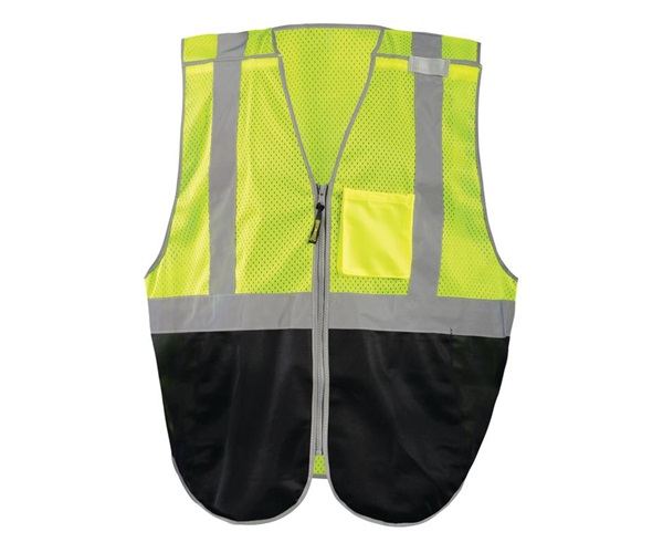 Black Bottom Break-Away Vest