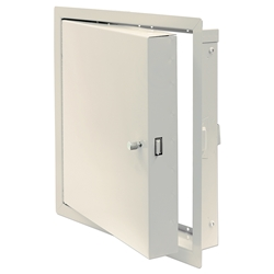 Insulated Fire-Rated Access Door with Flange