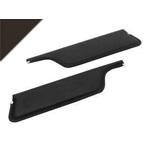 67-68 Convertible Sun Visors (Black)