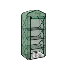 Pop-Up Greenhouse With Green Premium Pe Cover