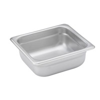 "Economy Anti-Jam 1/6 Size, 2-1/2"" D Steam Table Pan"