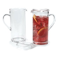 Carlisle 58 oz Clear Polycarbonate Elan Pitcher