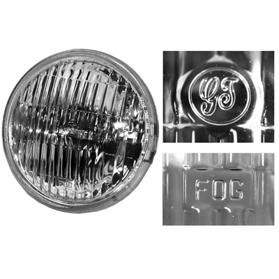 1965-68 Mustang Fog Lamp-Clear