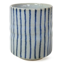 Blue Stripes Teacup