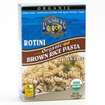Brown Rice Rotini (Lundberg®), Organic  - 10oz (Case of 12)