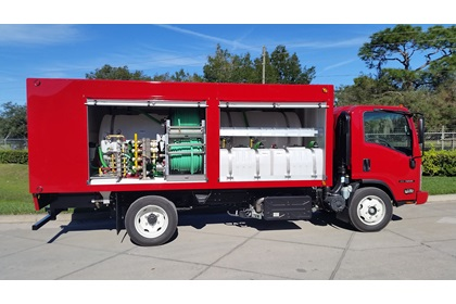 Plant Health Care & Compost Tea Truck | 1550 Series