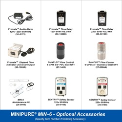 MINIPURE® MIN-6 Optional Accessories