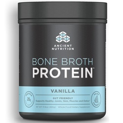 Bone Broth Protein Powder - Vanilla 17.4 oz (20 servings)
