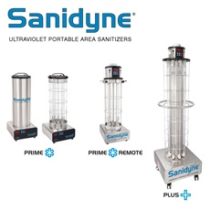 Sanidyne® UV Portable Air and Surface Sanitizers