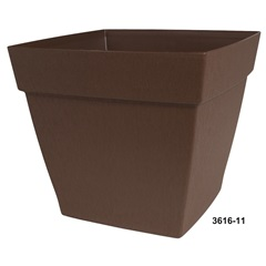 "16"" Harmony Square Patio Planter"