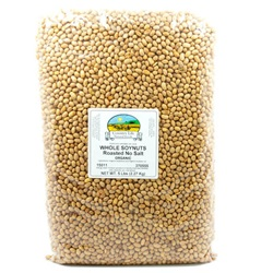Soynuts, Whole, (Roasted, No Salt) - Organic (5lb Bag)