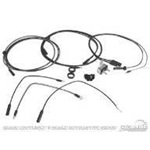 1964-65 Mustang Fog Lamp Wiring Conversion Kit