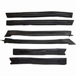 Convertible Roof Rail Weatherstrip Kit