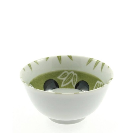 Bowl Green Bamboo + Panda 5""