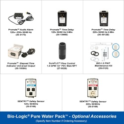Bio-Logic Pure Water Pack Optional Accessories