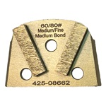 Double Cuboid Medium Bond 60/80 Magnetic Grinder Tooling for Virginia Abrasives®, EDCO® & Lavina® Grinders