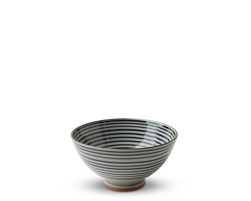"Celadon Stripes 4.5"" Rice Bowl"