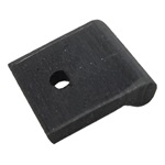 Spare wheel mounting pad