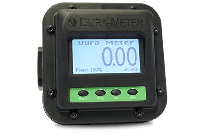 Dura-Meter™ Flow Meter | Viton Seal | 2 to 22 GPM Flow Rate