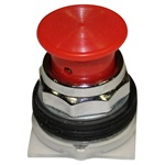 PTR Red Mushroom E-Stop Button