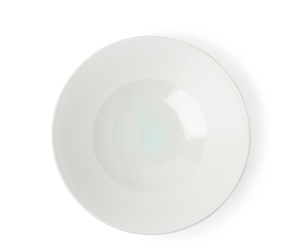 "White Sky 9.75"" Shallow Bowl"